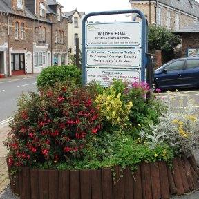 Sign WR Car Park 2012